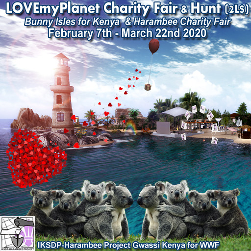 LOVEmyPlanet Harambee Charity Fair + Hunt - February 2020