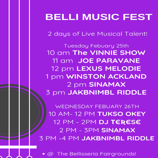 Belli Music Fest Feb 2020