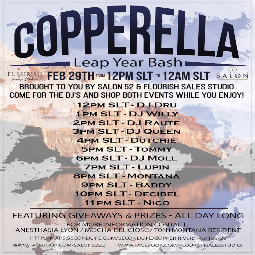 Copperella Festival Leap Year 2020