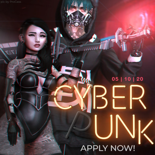 Flair for Events Cyber Punk May 2020