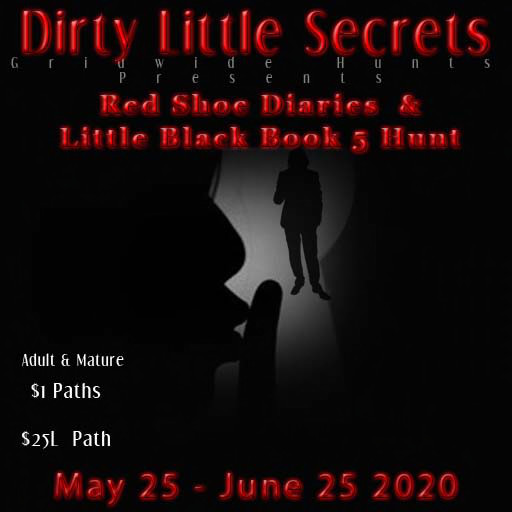 DLS- Red Shoe Diaries / Little Black Book 5 Hunt - May / June 2020