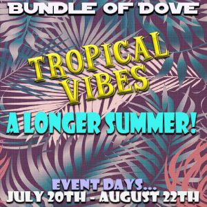 Bundle of Dove Tropical Vibes July 2020
