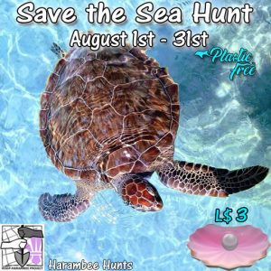 Harambee Save the Sea Hunt August 2020