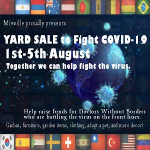 Mieville Yard Sale COVID Aug 2020