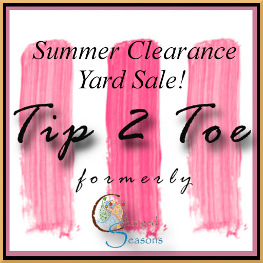 Tip 2 Toe Summer Clearance Sale July 2020