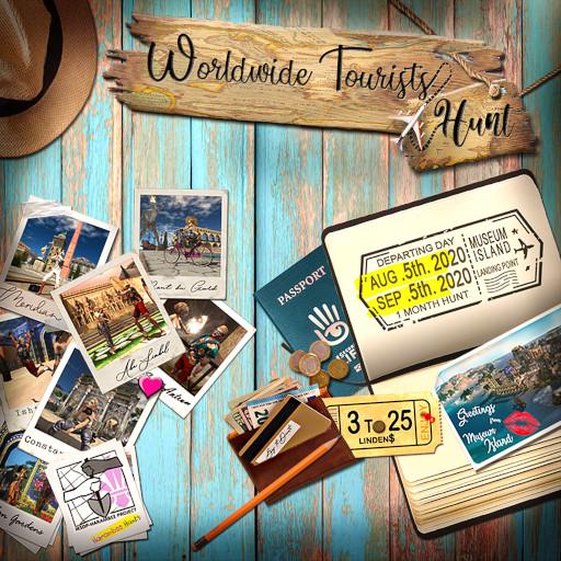Worldwide Tourists Hunt August 2020