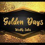 Golden Days Weekly Sales Logo