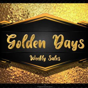Golden Days Weekly Sales Logo