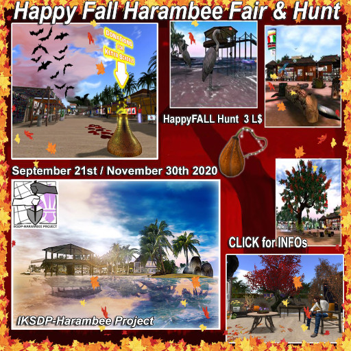 Happy Fall Harambee Fair & Hunt September 2020