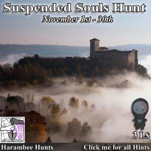 Harambee Suspended Souls Hunt November 2020