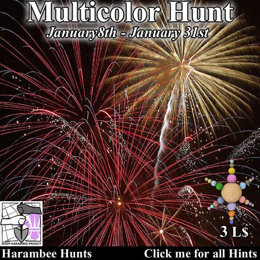 Harambee Multicolor Hunt January 2021