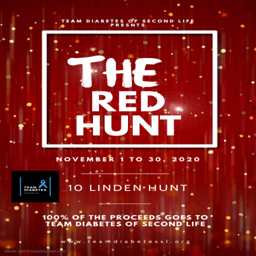 The Red Hunt Poster November 2020