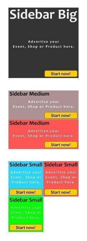 Sidebar Formats Positions