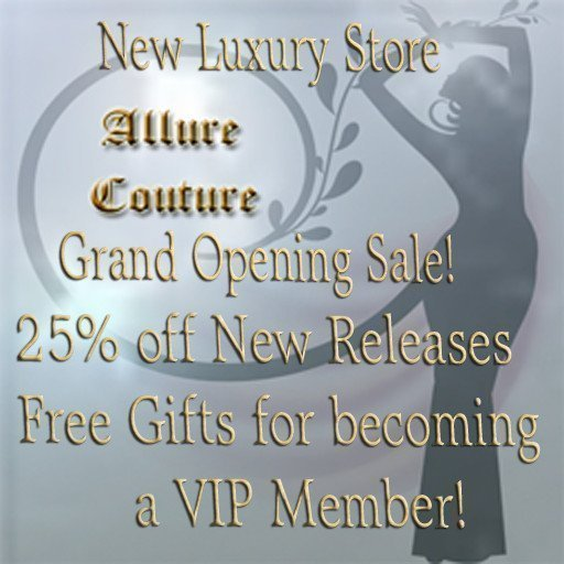 Allure Couture Grand Opening Sale April 2019