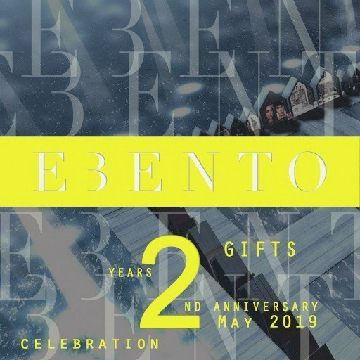 eBento 2nd Anniversary – May 2019