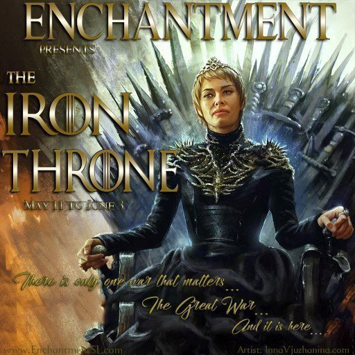 "Enchantment ""The Iron Throne FAIR"" – May 2019"