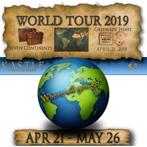 WORLD TOUR Hunt – April / May 2019