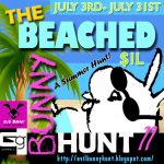 The EBP Beached Bunny Hunt 11 July 2021 Sign