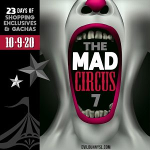 The EBP The Mad Circus 7 October 2021 Sign