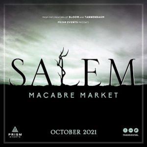 The Salem Event October 2021 Sign