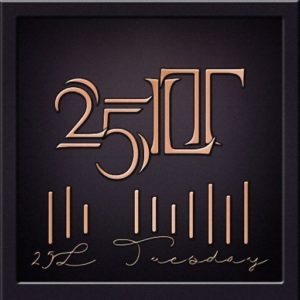 The 25L Tuesday Logo