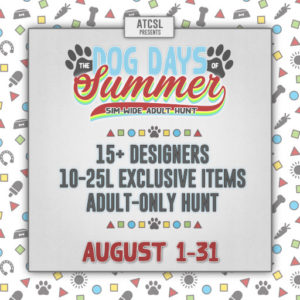 The ATCSL Dog Days of Summer Hunt August 2020 Sign