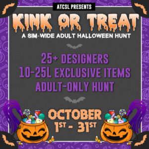 The ATCSL Kink or Treat Hunt October 2020 Sign