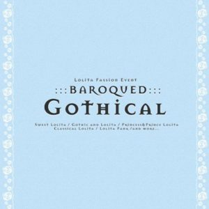 The BAROQUED GOTHICAL Event Logo