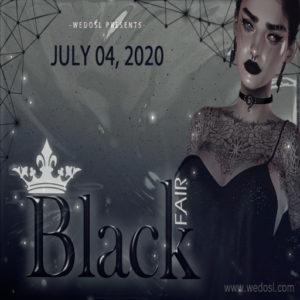 The Black Fair July 2020 Sign