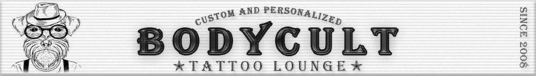 The BodyCult Tattoo Lounge Banner