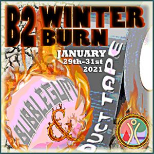 The Burn2 Winter Burn January 2021 Logo