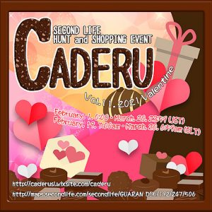 The CADERU Valentine February 2021 Logo