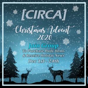 The CIRCA Christmas Advent Event December 2020 Sign