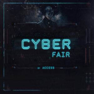 The CYBER FAIR by Access Logo