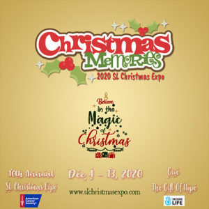 The Christmas Memories SL Christmas Expo December 2020 Sign
