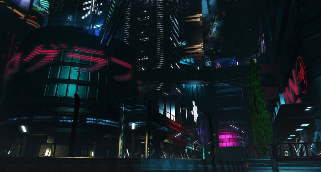 The night at Cocoon City Impression Picture