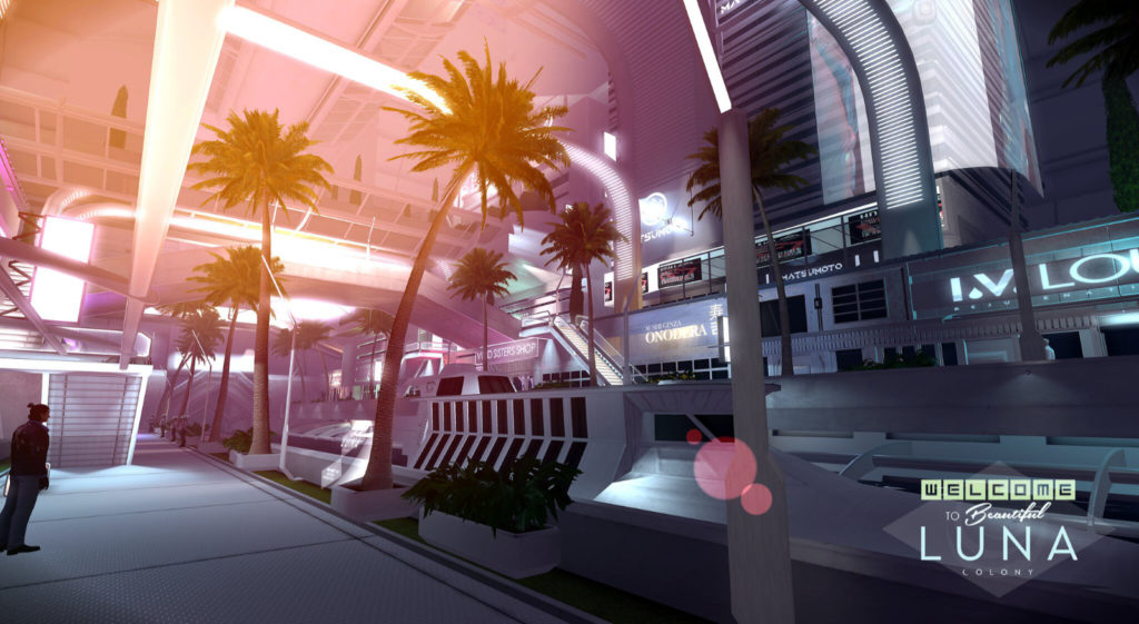 The Cocoon LUNA Colony City Impression Picture