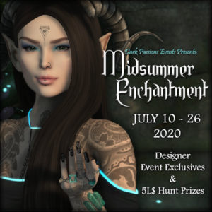 The DP Midsummer Enchantment July 2020 Sign