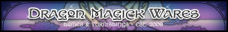 The Dragon Magick Wares Banner