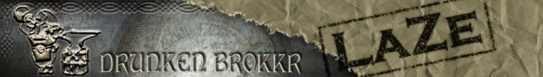 The Drunken Brokkr Banner