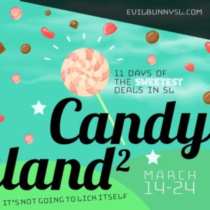 The EB Candyland 2 March 2020 Sign