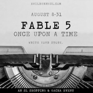The EB FABLE 5 August 2020 Sign