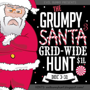 The Grumpy Santa Grid Wide Hunt December 2020