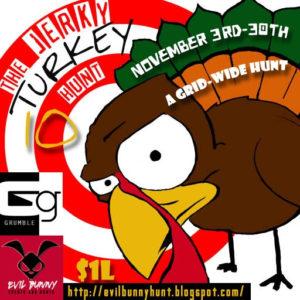 The Jerky Turky Hunt November 2020 Sign