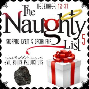 The Naughty List December 2020 Sign