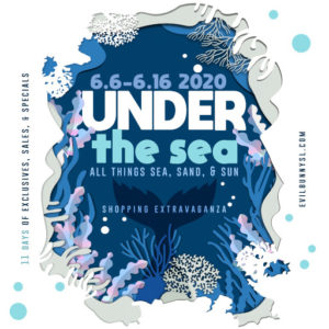 The EB Under The Sea Texture Mini Sale June 2020 Sign