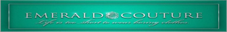 The Emerald Couture Banner