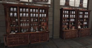 Picture of vintage store cupboards by Ex Machina