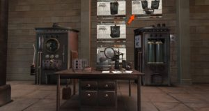 Picture of the Steampunk mad Scientist Laboratory by ExMachina