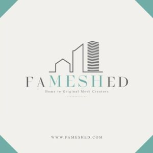The FaMESHed Event Logo
